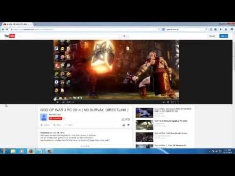 How To Download God Of War 3 Pc From The Link 2014 -  2015