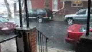 Thunderstorms Pouring Rain