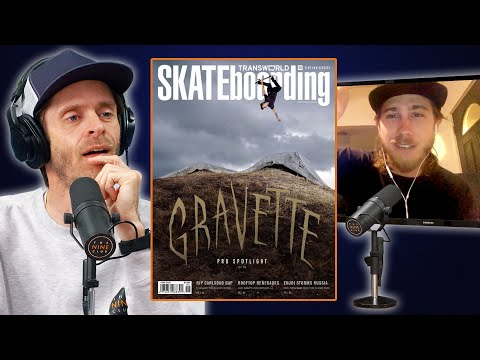 David Gravette Backflips Onto The Cover Of Transworld And A Beer Can!