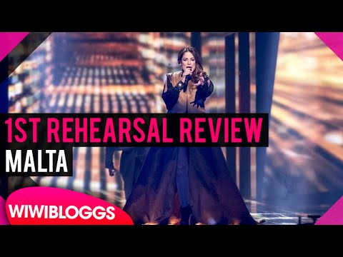 "Malta First Rehearsal: Ira Losco ""Walk on Water"" @ Eurovision 2016 (Review) 