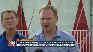 Nik Wallenda addresses Circus Sarasota high-wire accident, says 'it was a nightmare'