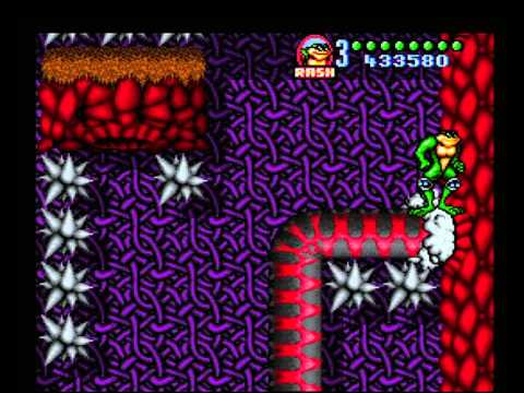 Battletoads in Battlemaniacs - Snakes Level