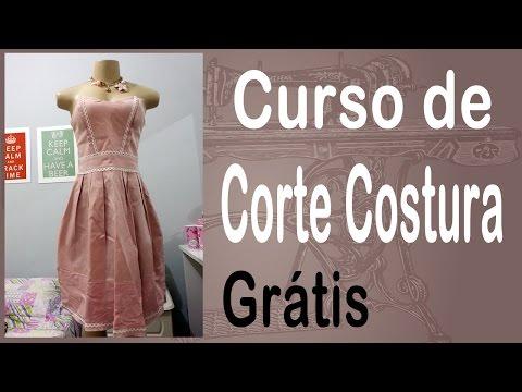 Corte e Costura passo-a-passo Barra Vestido - DIY - Vestido Rodado