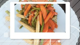 Healthy vegetable stir fry | quick and easy | healthycooking