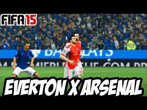 FIFA 15 MODO CARREIRA #18 - Jogo contra o Arsenal (Gameplay no Xbox 360) PT BR
