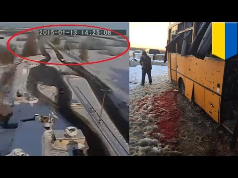 Ukraine bus attack: Video shows separatist claims of innocence are probably BS
