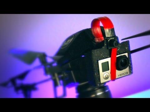 AR Drone 2.0 GoPro mod.
