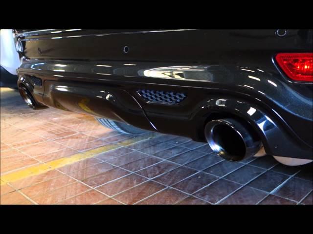 Jeep SRT 2014 Corsa Exhaust System