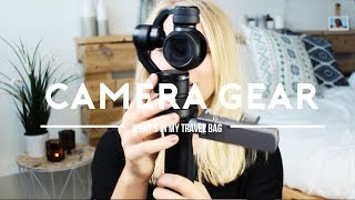 What's in my camera bag | Travel film gear.