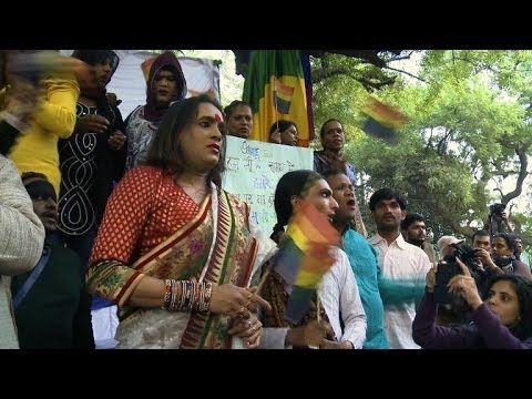 Protests As India Re-criminalizes Gay Sex video