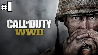 Call Of Duty World War 2 - Let's Play #1 [FR]