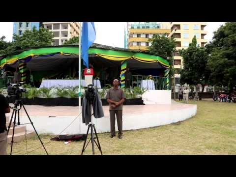 PRESIDENT KIKWETE LAUNCHES TANZANIA'S NATIONAL NUTRITION CAMPAIGN
