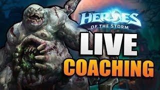 Live Coaching // The Friday Show // Heroes of the Storm