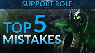 Top 5 MISTAKES Supports Make! | Dota 2 Guide