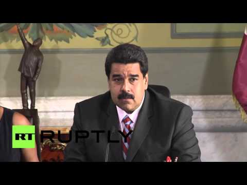 Venezuela: Maduro and Emir of Qatar sign bilateral agreements in Caracas