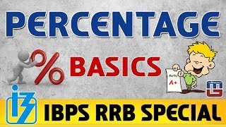 Percentage | Maths | IBPS RRB Special 2017