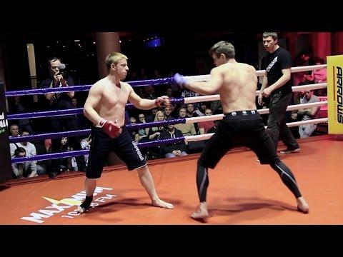 Русский Конор Макрегор против боксера нокаутера