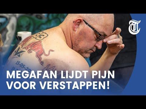 Kijk mee: handtekening Max vereeuwigt bij Tattoo-Dennis
