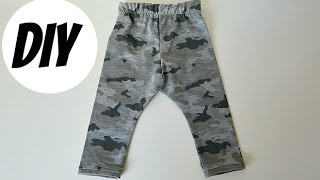 DIY Tutorial | How To Make Baby Leggings