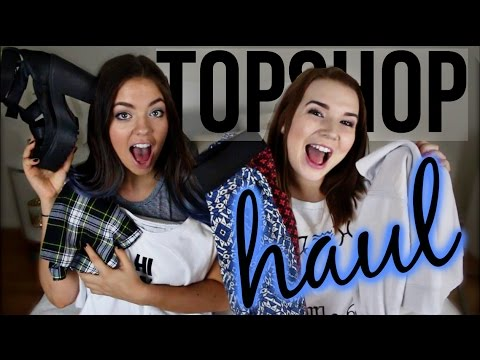 TOPSHOP HAUL with BeautyBaby44! (& GIVEAWAY)