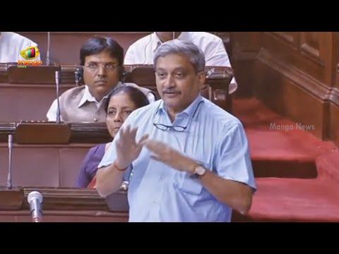 Manohar Parrikar Speaks About Army Recruitment Rallies | Rajya Sabha | Parliament Session