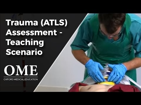 Initial Assessment of a Trauma Patient - Normal Scenario.wmv