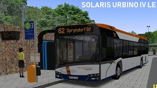 OMSI 2 [60 FPS] - SOLARIS URBINO IV LE Modded auf der 62 - Let's Play Omsi 2 [#527]