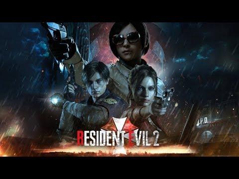 RESIDENT EVIL 2: Remake. Часть 1. Сценарий Leon A. Полицейский участок (без комментариев) [2K 1440p]