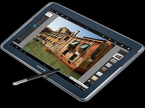 Análisis Samsung Galaxy Note 10.1 navegación. skype. aplicaciones. S-Pen y juegos