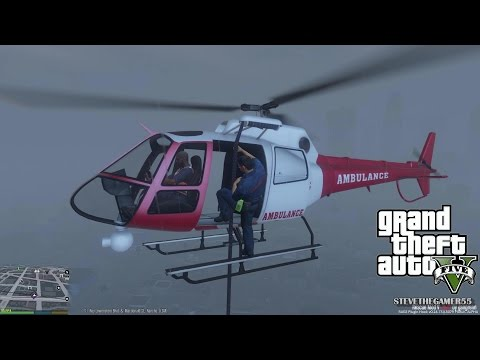 GTA 5 - Rescue Mod V - PARAMEDIC 2 - (GTA 5 Rescue Mod PC MODS)