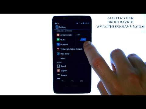 Motorola Droid Razr M - How Do I Connect or Pair Bluetooth