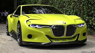 BMW 3.0 CSL Hommage WORLD DEBUT - Start Up Sound, Rev, Overview & Driving