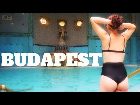 BUDAPEST ll Ruin Bars & Thermal Baths