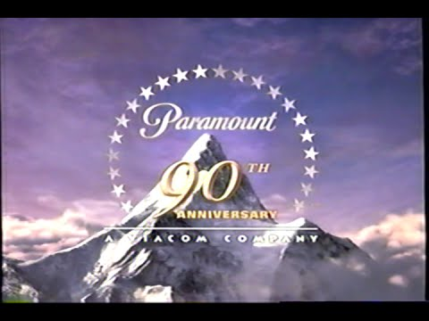 Paramount 90th Anniversary - A Viacom Company (2002) Company Logo (VHS Capture)