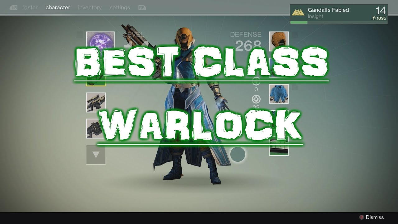 Destiny  Best Pve Warlock Build