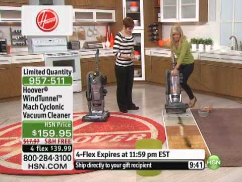 Hoover WindTunnel Mach Cyclonic Vacuum Cleaner