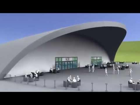 V-Ex Virtual Hall Helicopter Tour