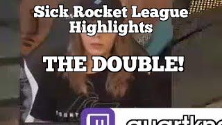Sick Rocket League Highlights: THE DOUBLE!