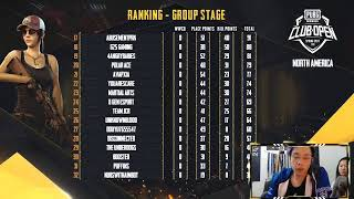PMCO NA VIEWER PARTY | Top 32 | Day 6 | Groups B+C | #PUBGMVIP