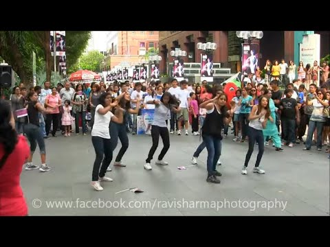 Taj Express Bollywood Flash Mob Full Version Hd | The Passion Tve video
