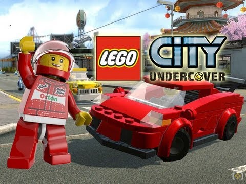 LEGO City Undercover - Performance Vehicles Showcase = FAST CARS !