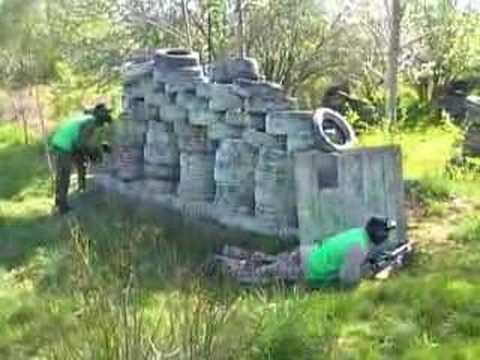 Hardsports Woodland Paintball - Team Grn