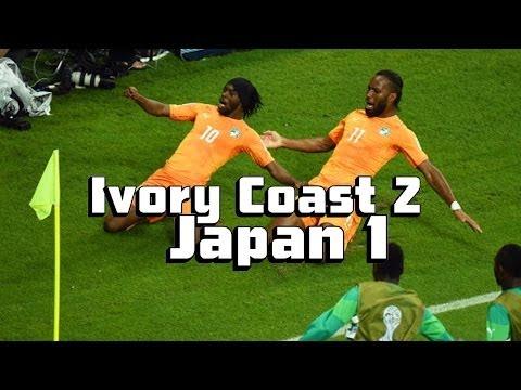 Ivory Coast Boosted By Drogba's Entrance [Japan vs. Ivory Coast Recap]