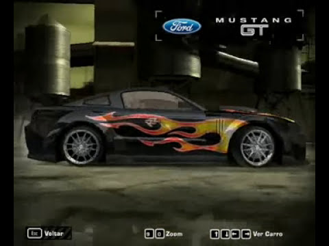 need for speed most wanted (mustang razor com vilnys tbm)