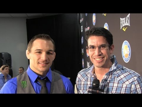 Michael Chandler talks Rick Hawn victory I dont consider myself the best lightweight in the world