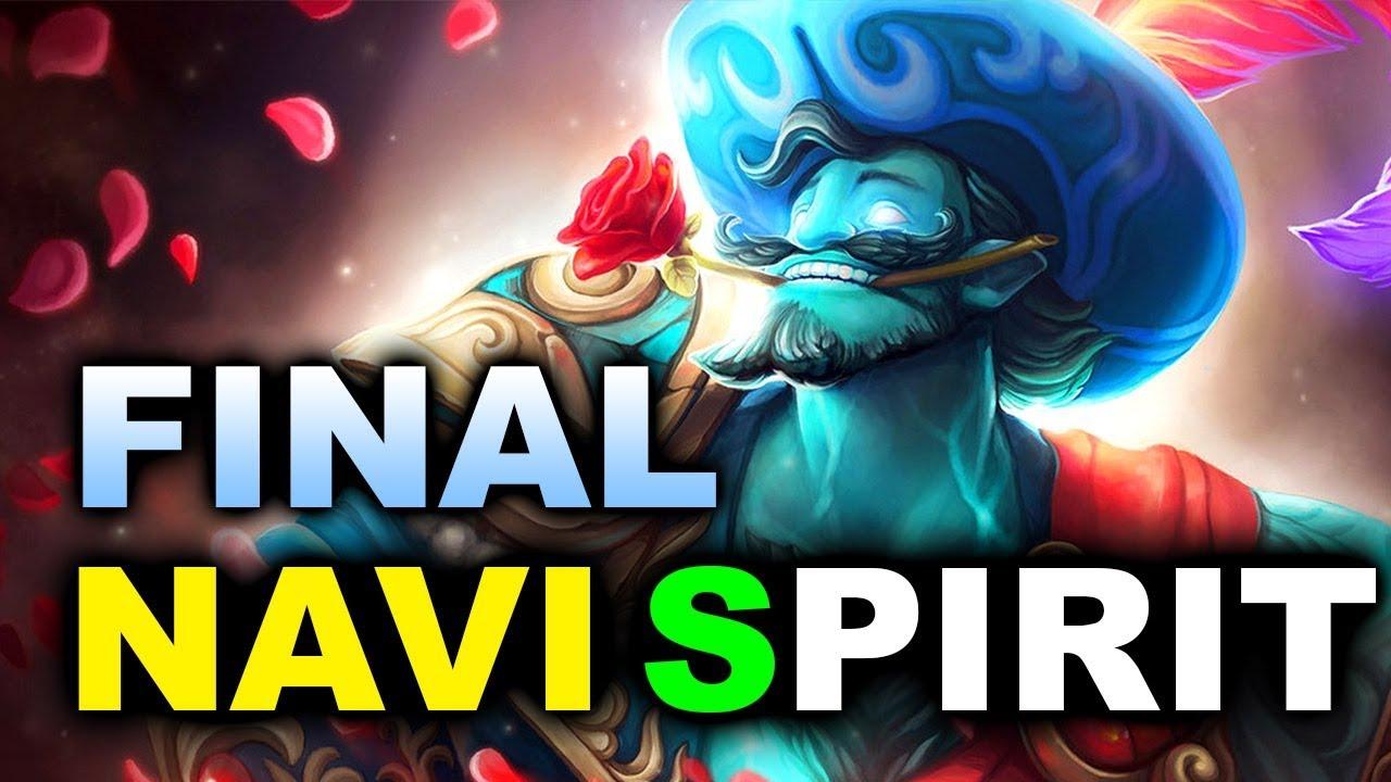 NAVI vs SPIRIT - INSANE CIS GRAND FINAL - GESC JAKARTA DOTA 2
