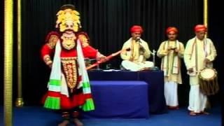 Hindi yakshagana Panchavati by Yaksha Manjusha Mangalore Rama Lakshmana Seeta Entry