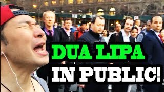 "Download Lagu Dua Lipa - ""New Rules"" and ""IDGAF"" - SINGING IN PUBLIC!! Gratis STAFABAND"