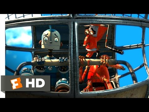 Robots (1/3) Movie CLIP - The Cross-Town Express (2005) HD