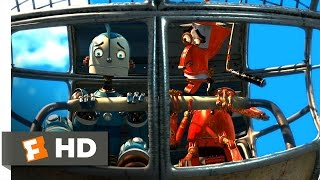 Video clip Robots (1/3) Movie CLIP - The Cross-Town Express (2005) HD